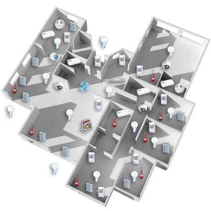 Projekt Propozycji układu urządzeń - Inteligentny Dom Fibaro